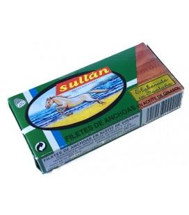 Anchoas SULTÁN en Aceite Vegetal RR-50