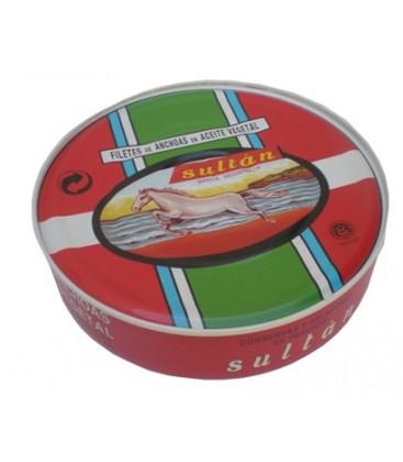 Anchoas SULTÁN en Aceite Vegetal RO-550
