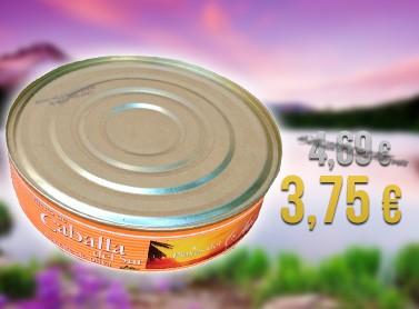 Caballa en aceite de oliva 550g
