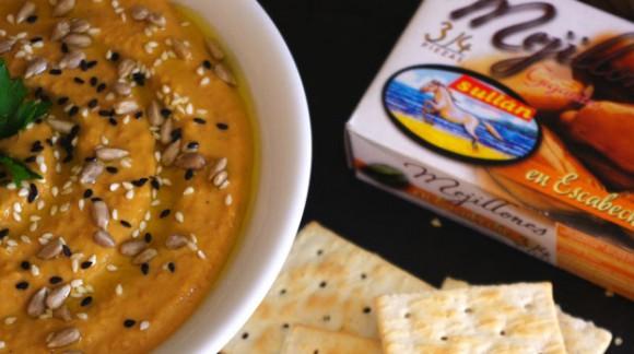 Hummus de Lentejas y Mejillones