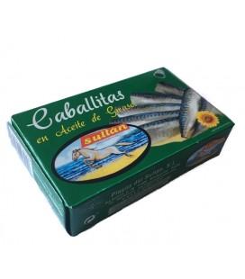 Caballita entera en aceite de Girasol SULTÁN RR-125