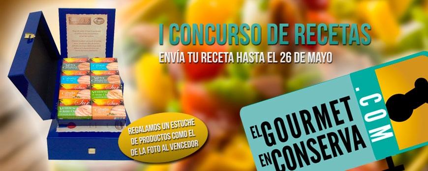 Primer concurso de recetas 'El gourmet en conserva'