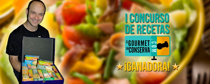 Daniel Gallego fue el Ganador del Primer concurso de recetas 'El Gourmet en conserva'