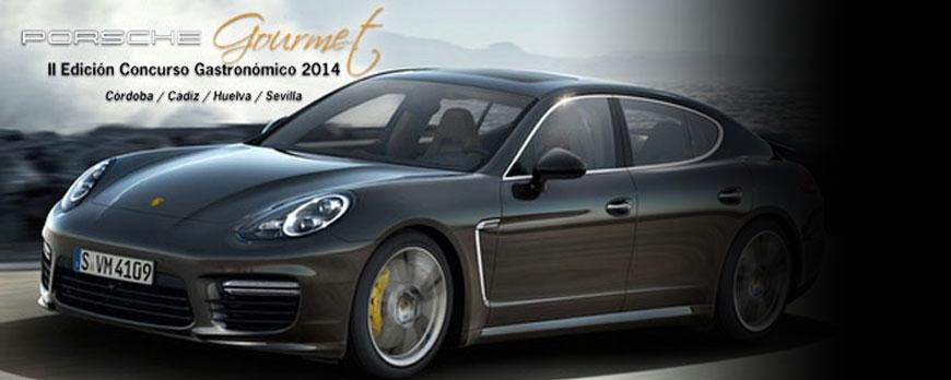 ¿Porsche? también organiza un certamen Gourmet